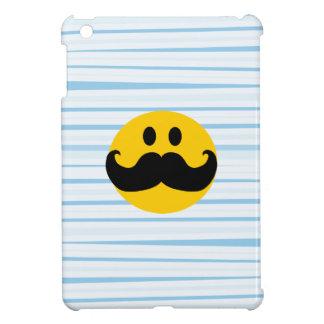 Mustache Smiley iPad Mini Cover