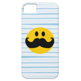 Mustache Smiley iPhone 5 Cases