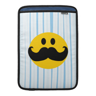 Mustache Smiley Sleeve For MacBook Air