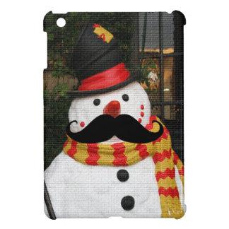 Mustache & Snowman iPad Mini Cover