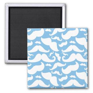 Mustache Square Magnet