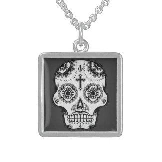 Mustache sugar skull jewelry