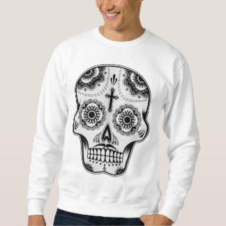 Mustache sugar skull sweatshirt
