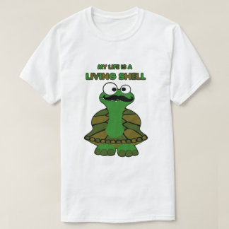 Mustache Turtle Living Shell T-Shirt