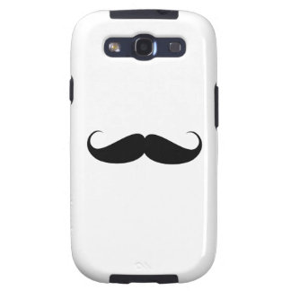 mustache vintage symbol funny moustache samsung galaxy SIII cases
