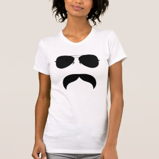 Mustache With Glasses T-Shirt