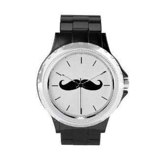 Mustache Women s Watch