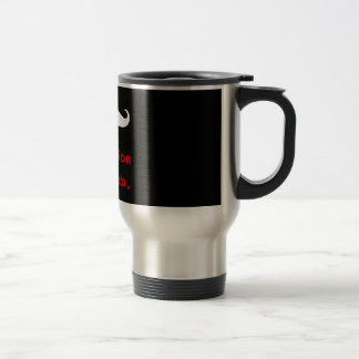 Mustache You a Question Coffee Mug
