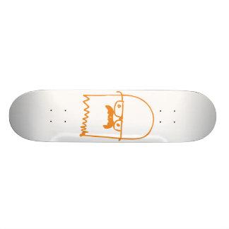 Mustached Ghost Custom Skate Board