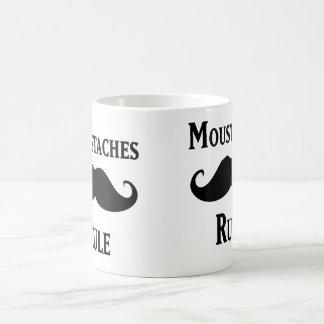 Mustaches Rule Coffee Mugs