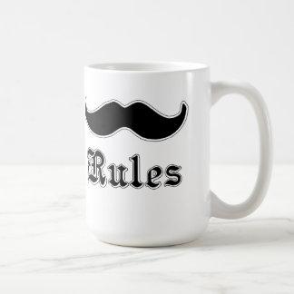 Mustaches Rules Mug