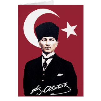 Mustafa Kemal Atatürk Card