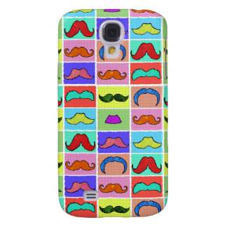 Mustahce pattern funny colorful HTC vivid case