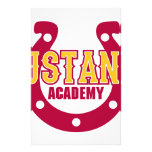 Mustang Academy Customized Stationery