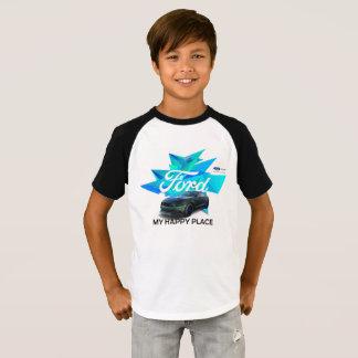 Mustang Customizer Kids' Raglan T-Shirt