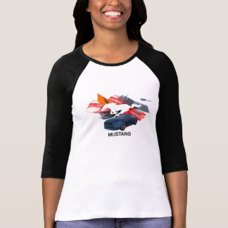 Mustang Customizer Women's Raglan T-Shirt