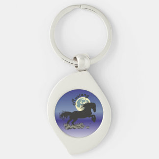 Mustang for horse lover key supporter key chains