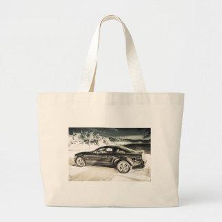 Mustang GT Large Tote Bag