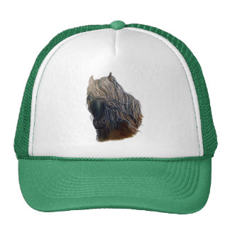 Mustang Horse Truckers Style Hat