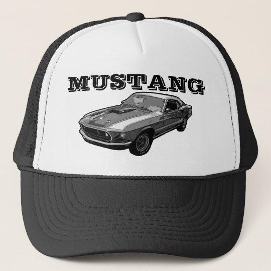 Mustang mechanical power trucker hat