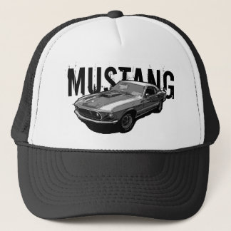 Mustang mechanical power trucker hat