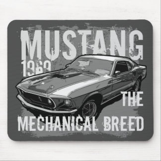 Mustang Mouse Pad
