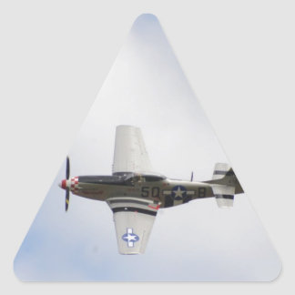 Mustang P51 Triangle Sticker