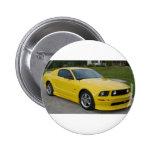 Mustang Pinback Button