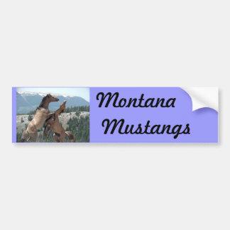 Mustangs Bumper Sticker