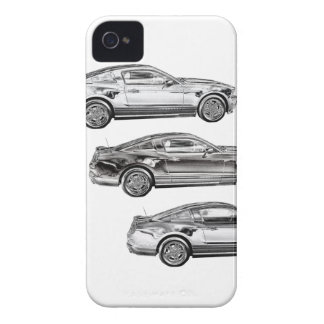 Mustangs! iPhone 4 Case-Mate Cases
