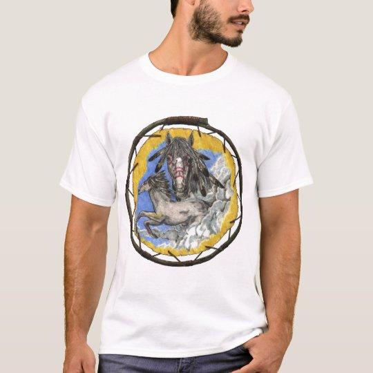 Mustangs Horse Lakota Fools Crow Quote T-Shirt