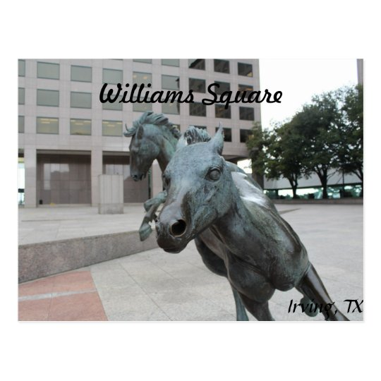 Mustangs of Las Colinas # 26 Postcard