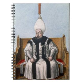 Mustapha III (1717-74) Sultan 1757-74, from 'A Ser Notebook
