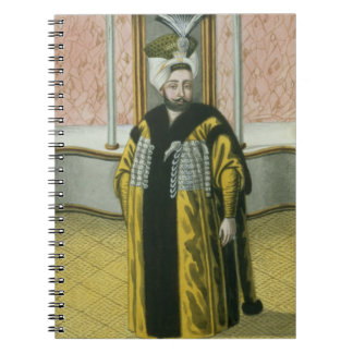 Mustapha IV (1779-1808) Sultan 1807-8, from 'A Ser Notebook