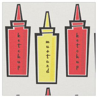 Mustard and Ketchup Fabric