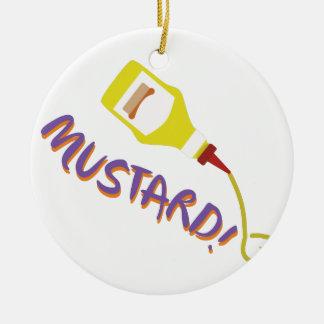 Mustard! Christmas Ornament
