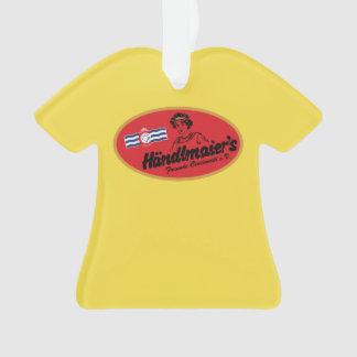 Mustard Club T-shirt Ornament