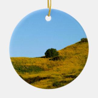 Mustard Grass Christmas Ornaments