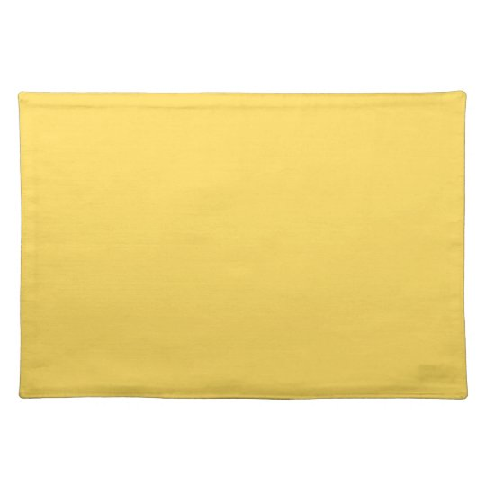 Mustard Traditional Single Colour Placemat