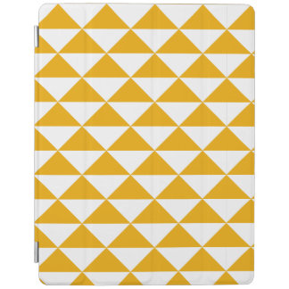 mustard triangle smart tablet cover