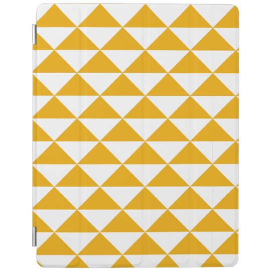 mustard triangle smart tablet cover iPad cover