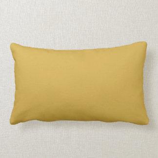 Mustard Yellow Colour Lumbar Pillow
