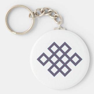 Muster geflochtene Quadrate pattern braided square Schlüsselanhänger