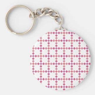 Muster Quadrate Dreiecke pattern squares triangles Schlüsselbänder