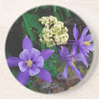 Mutant Columbine Wildflowers Coaster