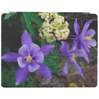 Mutant Columbine Wildflowers iPad Cover