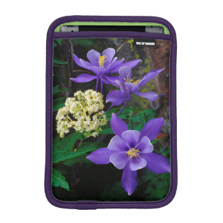 Mutant Columbine Wildflowers iPad Mini Sleeve