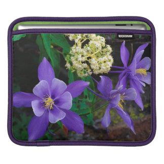 Mutant Columbine Wildflowers iPad Sleeve