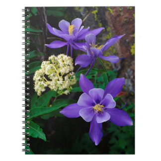 Mutant Columbine Wildflowers Notebooks