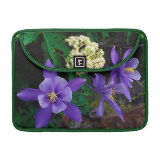 Mutant Columbine Wildflowers Sleeve For MacBook Pro